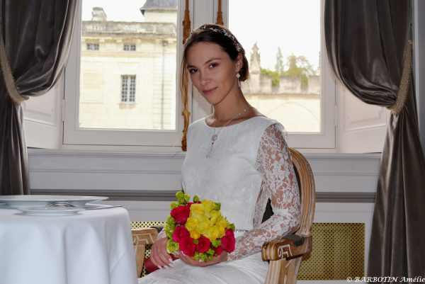 Robe de mariée, création de 2020
